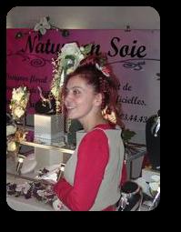 Cécile Gomez créatrice pour les robes de mariée et accessoires de mariage.