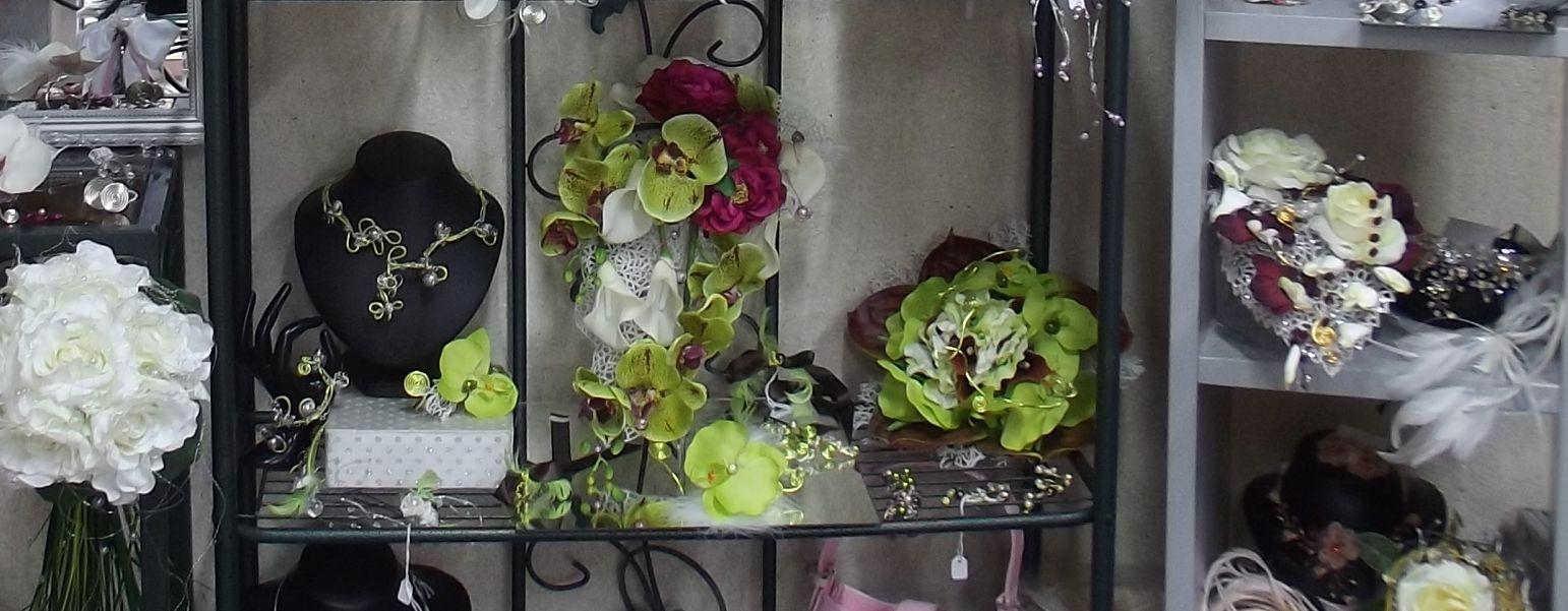 Bouquets de mariage et accessoires de robe de mariée sur compiègne et noyon