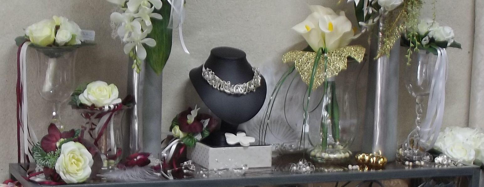 Bijoux et accessoires de la mariée sur compiègne et noyon